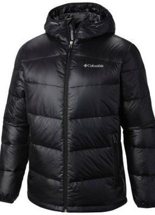 Мужская куртка columbia gold 650 turbodown omni-heat. большой размер - 2xl