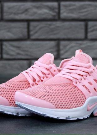 Розовые женские кроссовки 36 37 38 39 40 рр