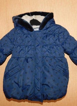 Куртка демисезонная tu на 1-1,5 года рост 80-86 см