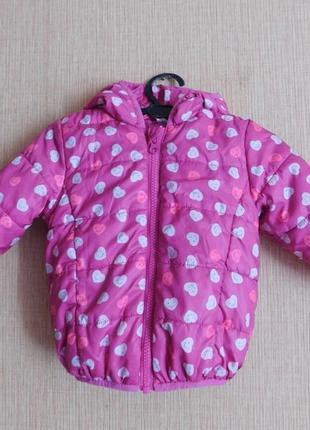 Куртка демисезонная benetton baby на 3-9 мес
