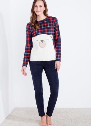 Теплая флисовая пижама women'secret, размер m