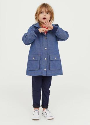 Куртка-парка h&m для дівчинки, р. 110, 116