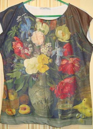Дизайнерская футболочка sasha gregoryan