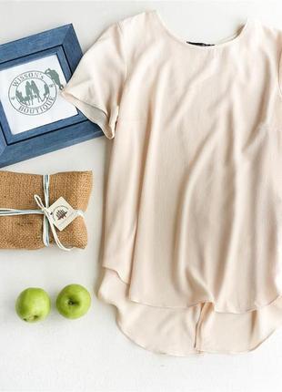 Нюдова блуза з відкритою спинкою від atmosphere