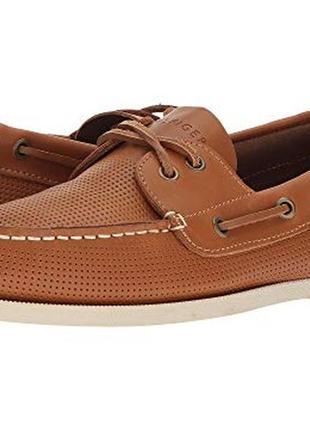 Топсайдеры мокасины туфли tommy hilfiger 9,5 размер сша