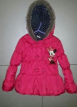 Классная курточка minnie