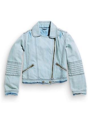 Джинсовая куртка на девочку 10 лет i love you next