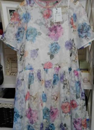 Воздушное оригинальное платье asos