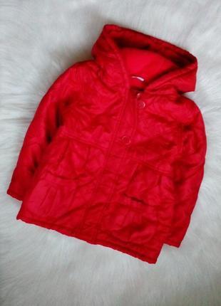 Утепленная деми куртка от mini club 104-110 см, 4-5 лет