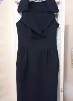 Стильное платье-миди zara m-l