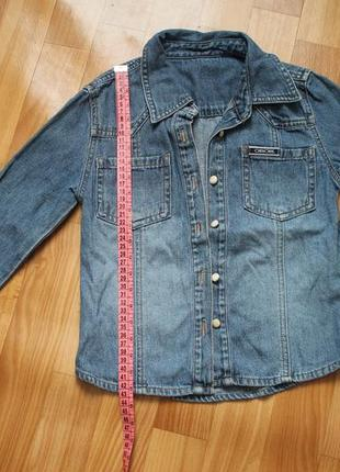 Джинсовая курточка для девочки 9 лет