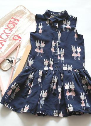 Платье, сарафан george для девочки, 6-7 лет