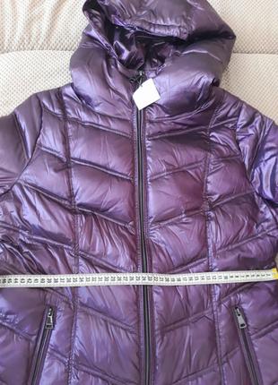 Шикарная куртка пуховик от  calvin klein. оригинал!