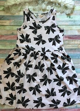Платье h&m 4-6 л
