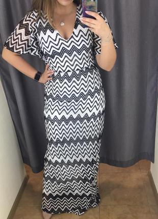Вечернее платье в пол new look