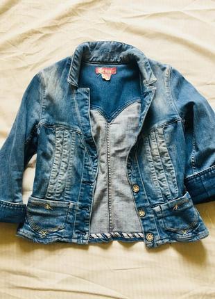 Короткая джинсовую h&m