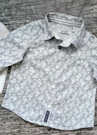 Рубашка ikks 6мес