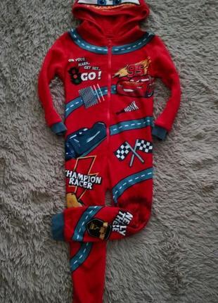 Человечек,слип,пижама, кигуруми с капюшоном george,4-5 лет