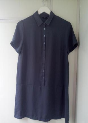 Платье-рубашка шифон f&f