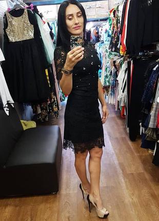 53e7950dcb76717 Платье женское летнее нарядное вечернее мини чёрное италия Италия ...
