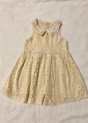 Платье размер 3-4 года