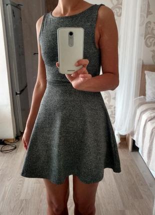 Супер платье с открытой спинкой