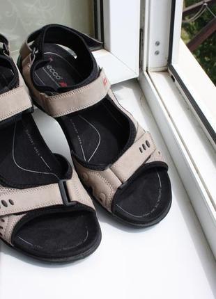 Мужские сандалии ecco кожа 46 размер