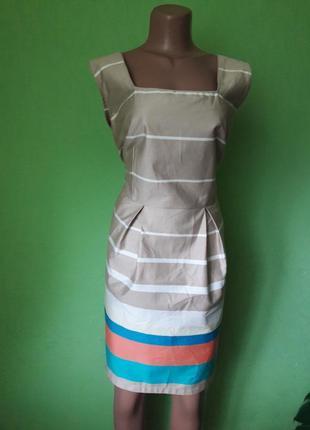 Стильное платье с натуральной ткани