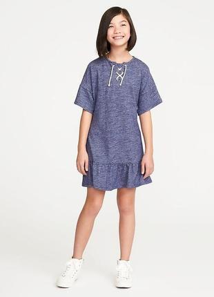 Стильное платье для девочки от old navy