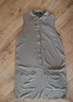 Легкое платье из вискозы mango