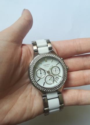Цена снижена! шикарные женские часы dkny, куплены в париже