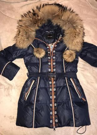 Пуховое пальто veralba
