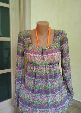 Супер пляжное платье стильное и нежное от new look р. с-м