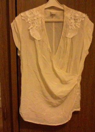 Шелковая блуза, разм.46-48