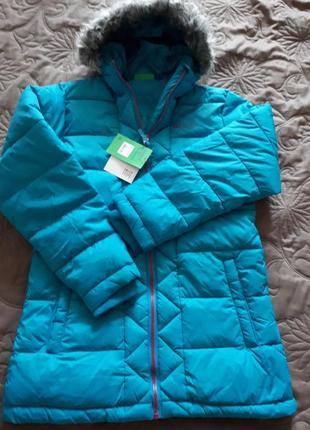 Теплая деми куртка mountain warehouse по хорошей скидке 11-13 лет или худенькой мамочке