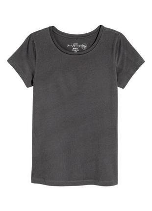 Новая футболка h&m, органический хлопок