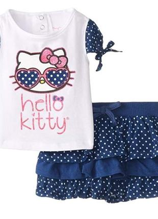 Комплект hello kitty baby-girls