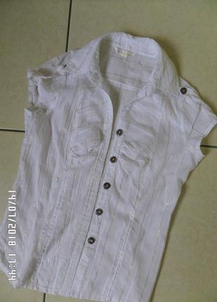 Denim s тоненька натуральна блузка