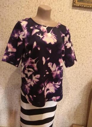 Стильная блуза 50 размер англия