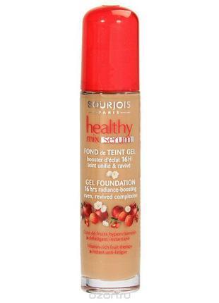 Сыворотка тональная витаминизированная bourjois healthy mix serum тон 58 темный загар