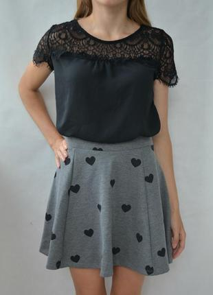 Очень красивая блуза с кружевом anna field прекрасна блуза з кружевом