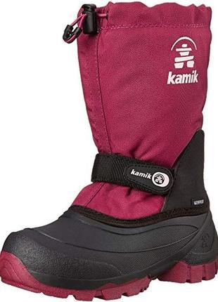 Детские зимние ботинки kamik