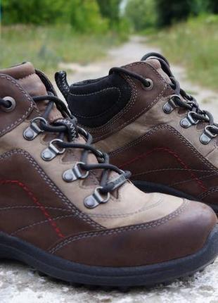 Шкіряні ботінки, черевики hotter на gore-tex