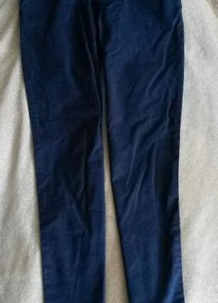 Gap брюки школьные штаны синие в идеальном состоянии на 8-9 лет 130 см