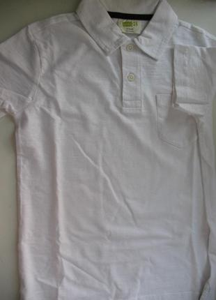 Новая тенниска футболка crazy 8, сша, 5-7 лет, 100% хлопок, белая