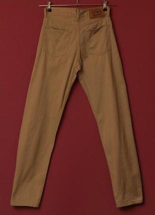 Levis white tab denim pants брюки из денима levis талия 36 см