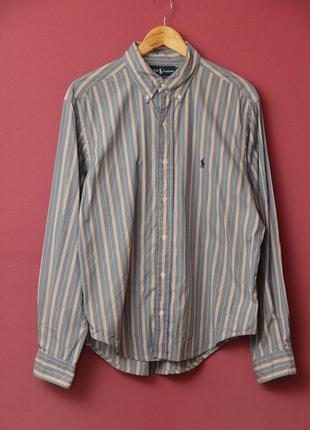 Polo ralph lauren рр l-xl рубашка, оригинал