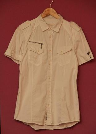 Diesel рр m рубашка, оригинал. крой отсылающий к милитари.