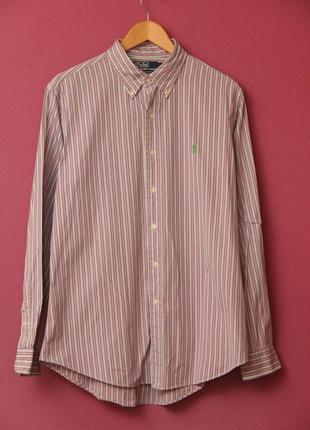 Polo ralph lauren  рр l рубашка, оригинал