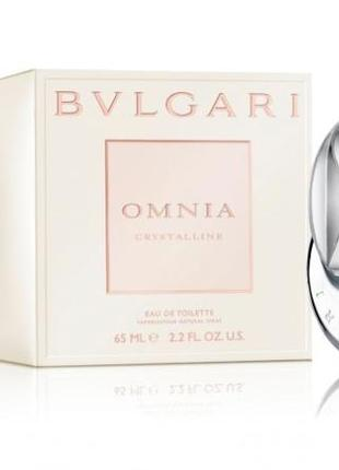 Bvlgari omnia crystalline туалетная вода булгари омния кристаллайн кристаллин тестер